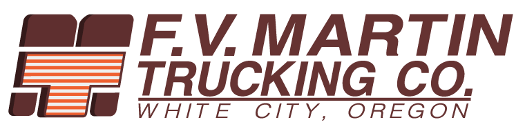 F.V. Martin Trucking Company - Based in Southern Oregon