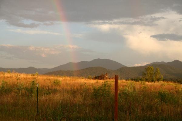 Mt. Ashland View Rainbow